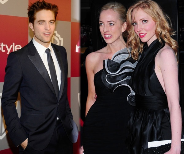 Robert, Lizzy Pattison, and Victoria Pattinson
